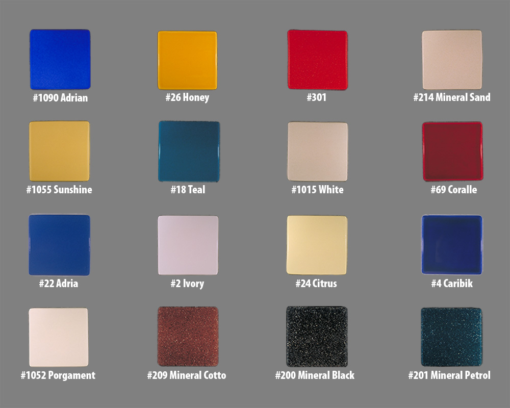 Biofire - Tile styles and colors